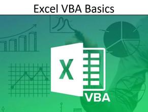 Excel VBA basics [Download] [PDF]