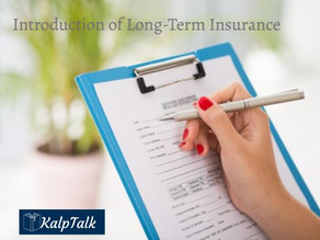 Introduction of Long-Term Insurance