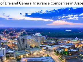 List of  Life and General Insurance Companies in Alabama State (USA)