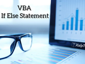 VBA If Else Statement