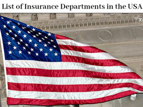 List of Insurance Departments in the USA