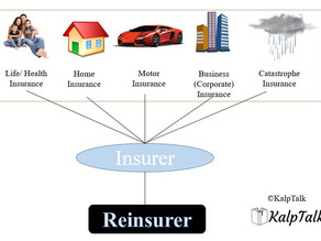 Process of Risk transferring in Insurance and Reinsurance