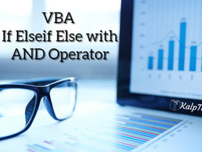 VBA If Elseif Else with AND Operator