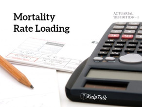 Mortality Rate Loading