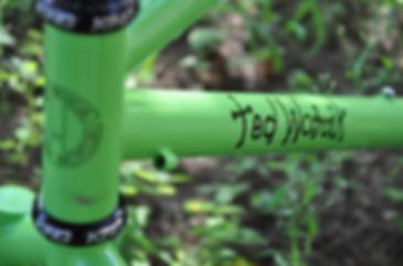 "Old School Bike, Hardnose, Hard Nose, Ted Wojcik, 26"" Mountain Bike, Chris King, Custom Paint, Custom Bicycle, Custom Bike"