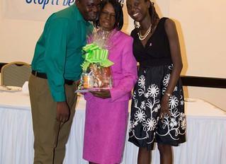 Breast Cancer Survivor UWA's Dr. B. Gedaliah made JA$100k donation at the annual UWA Breast Canc