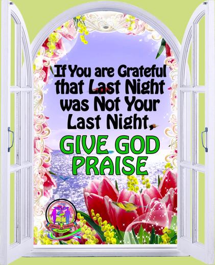 Give God Praise