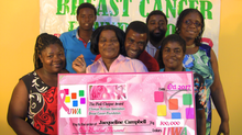 2017 UWA BREAST CANCER JA$100,000 PINK CHEQUE AWARD