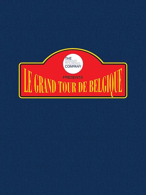 """Reisgids """"Le Grand Tour de Belgique"""" (NL)"""