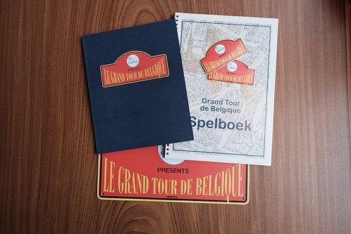 """Reisgids + Achterbankspelboek """"Le Grand Tour de Belgique"""" (NL)"""
