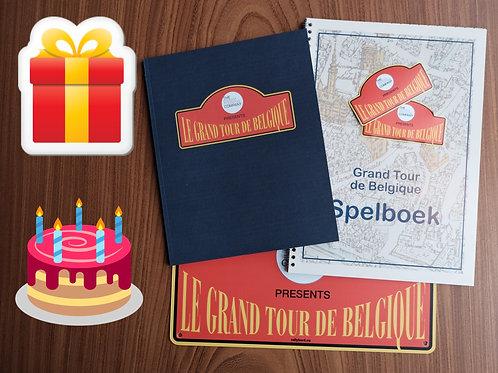 PERSONALISED PACKAGE Le Grand Tour de Belgique