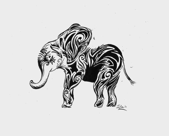 Elephant's Imagination