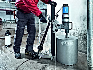 construction machinery,dry core drill,BAIER