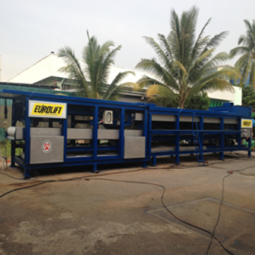 CIMAR Dewatering Belt-Press Plant