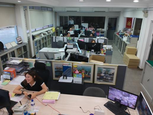 Teesin Sales Office front