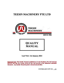 TEESIN MACHINERY PTE LTD QM Cover2021.jp