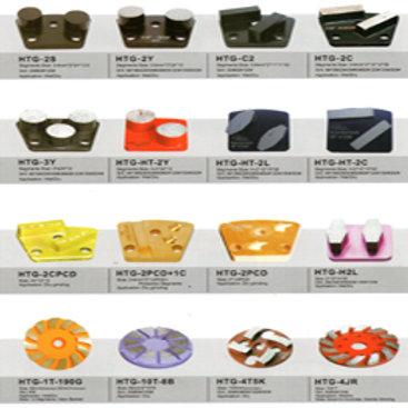 HTG Diamond Segment Metal-Bonded Pad