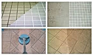 grouting prcedure during shinning flat p