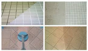 Cleaning after grouting procedure