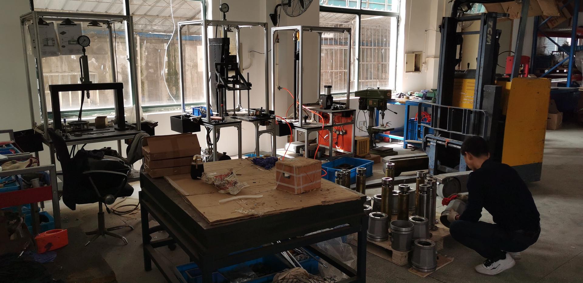 ACE Machinery Ltd's assembly line