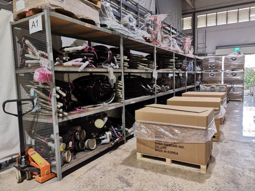 Teesin Warehouse Front