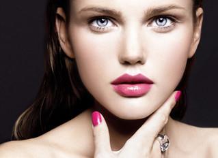 The brighter the lipstick...