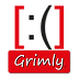 Grimly-Logo, Anja Schramm, Lucky-Shirts-Shop