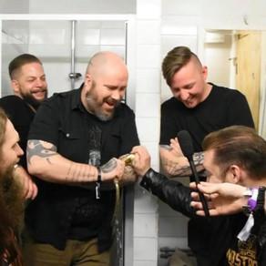 iVardensphere toilet interview. Beat:Cancer festival 9/11/12 at Slimelight Elektrowerkz London