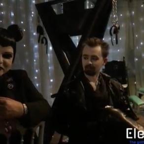Massive Ego Interview at Static Darkness Festival 2/11/19 Elektrowerkz Slimelight