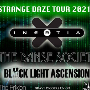 Live Review: Inertia, Danse Society, Black Light Ascension + The Frixion - Electrowerkz 24/7/21