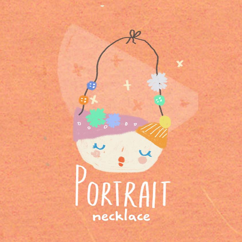 Online Portrait Necklace (Recycled Art) Workshop - Session 2