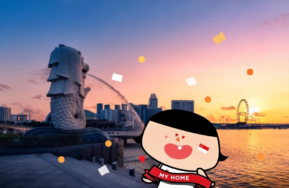 Singapore Skyline_with Oops Odelia