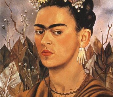 On Frida Kahlo's Self-Portrait @GRAM'S