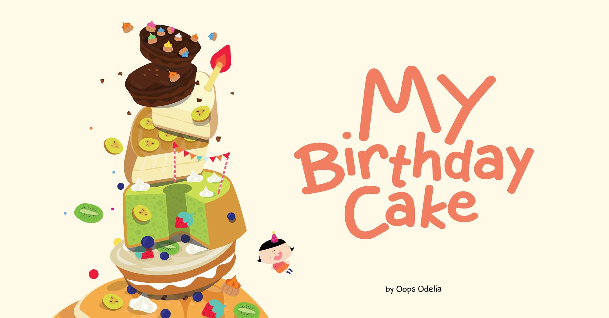 Coming Soon My Birthday Cake 我的无敌蛋糕