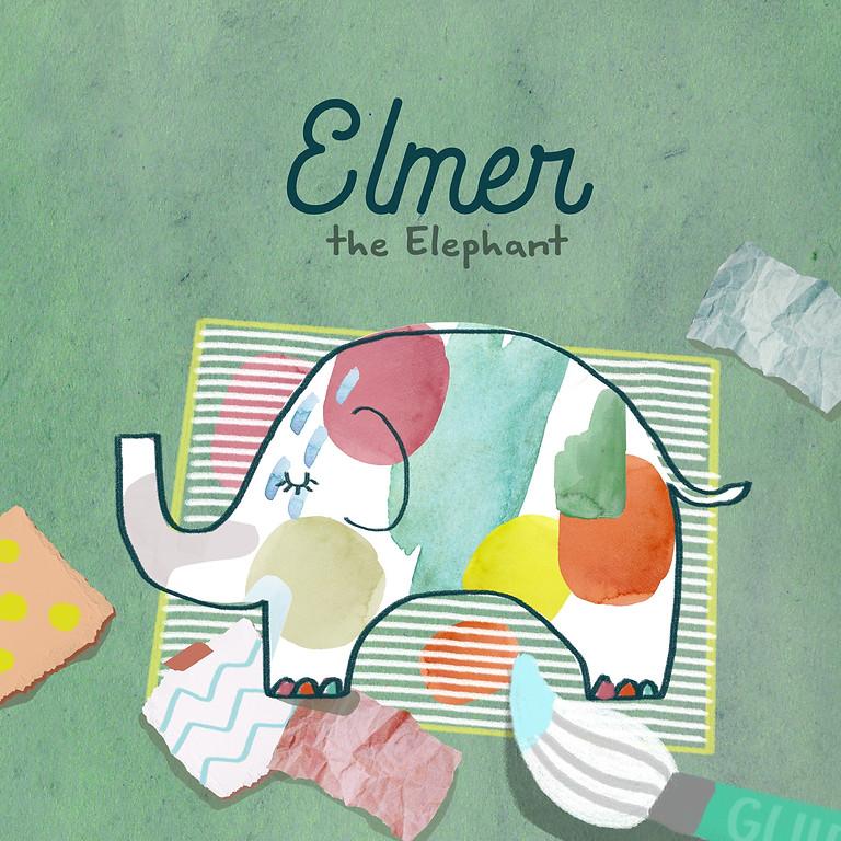 Elmer the Elephant (Story & Canvas Workshop)