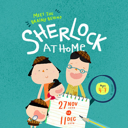 Session 1 - Sherlock at Home (Bilingual Workshop)