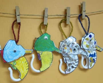 Read & Craft Activity: Mister Seahorse by Eric Carle