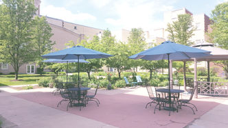 Courtyard Patio Seating