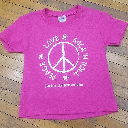 Peace, Love, Rock 'n Roll T-Shirt