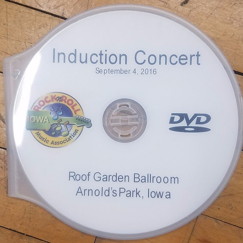 2016 Induction Concert DVD