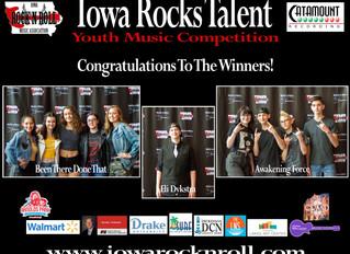Too Much Talent at Iowa Rocks Talent