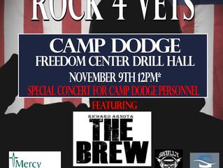 Rock 4 Vets Camp Dodge - Rockin' Out Across Iowa