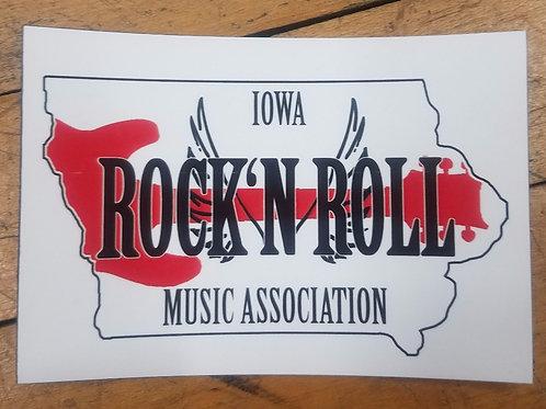 Iowa Rock 'n Roll Magnet