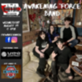 Awakening Force Band InstagramFacebook p