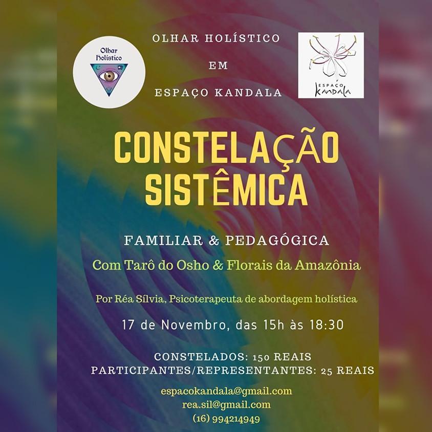 Constelação Sistêmica, com Réa Sílvia, Psicoterapeuta de abordagem holística.