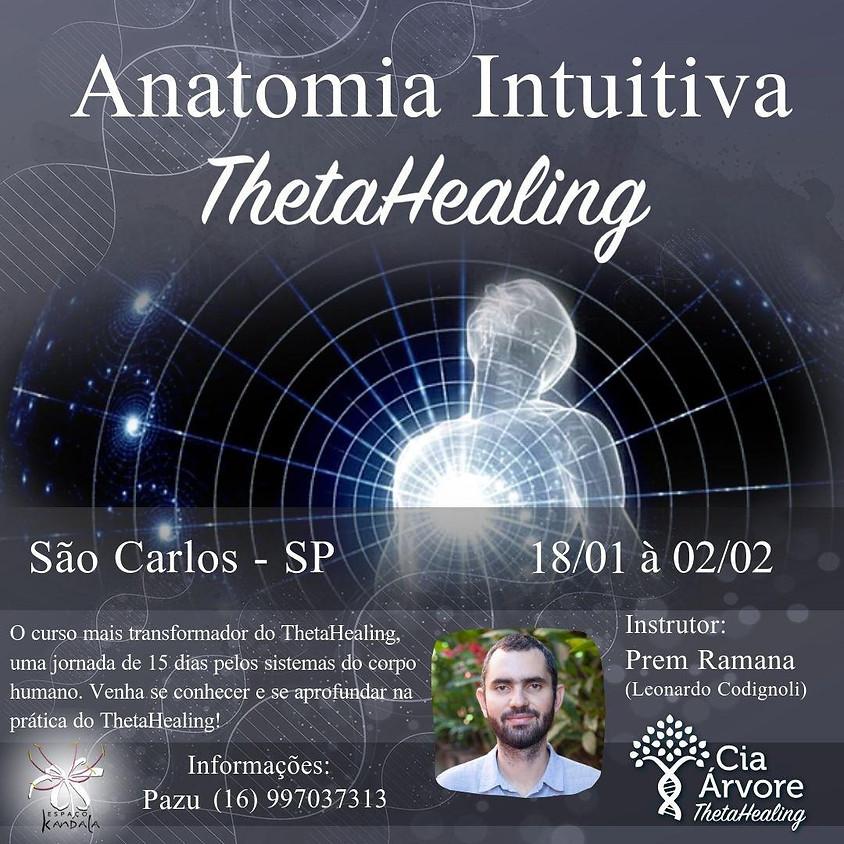 Curso ThetaHealing: Anatomia Intuitiva em São Carlos - SP