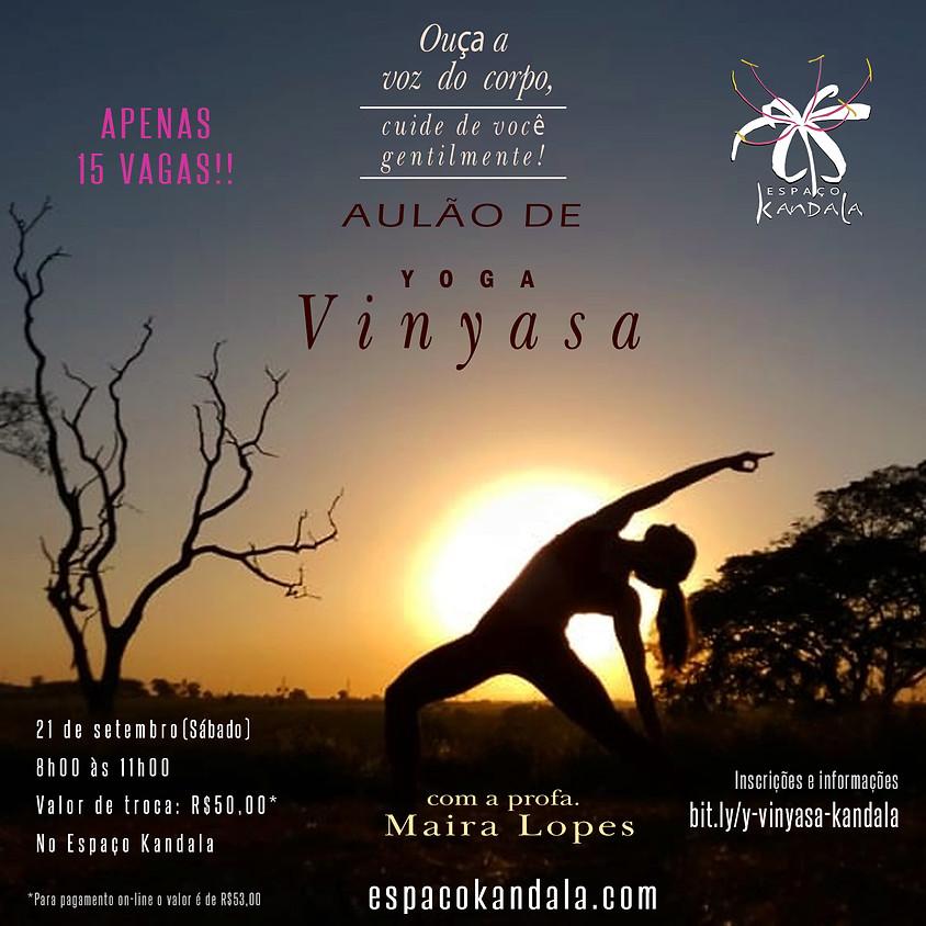 Aulão de Vinyasa Yoga