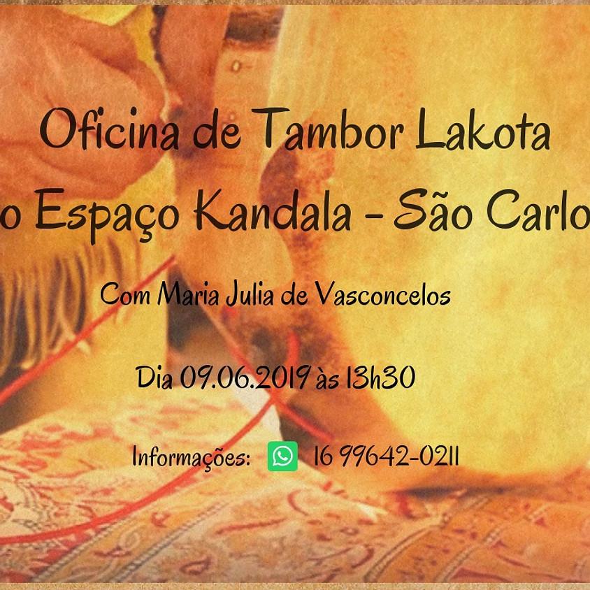 Oficina de Tambor Lakota no Espaço Kandala
