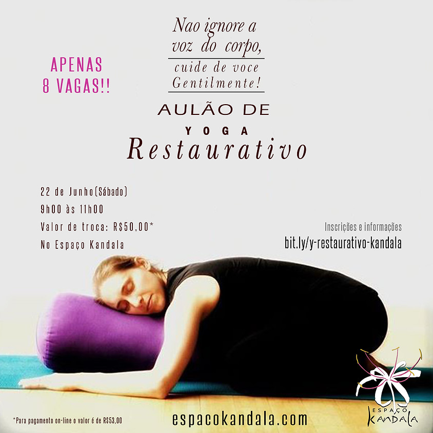Aulão de Yoga Restaurativo