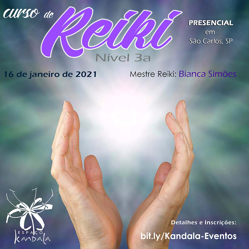 Curso de Reiki Nivel 3a - Presencial